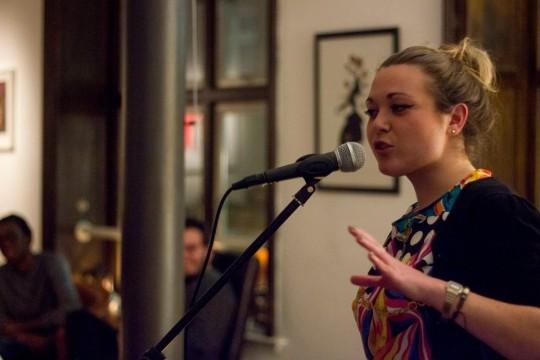 Maria Ferguson @ BAR Poetry